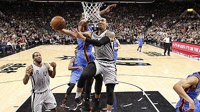 NBA: Oklahoma City begeisterte beim 128:94 über Portland