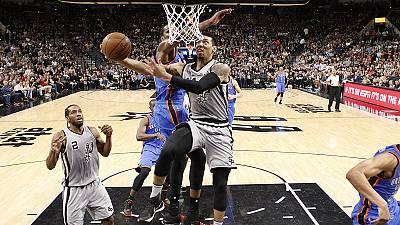Oklahoma stun Portland with huge NBA home win