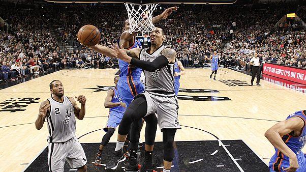 Oklahoma mais confortável para os playoffs da NBA