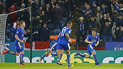 Leicester City hat die Krone auf dem englischen Meisterpokal in Sichtweite