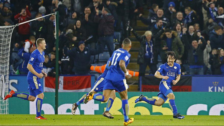 İngiltere'de Leicester City takımı tarih yazıyor