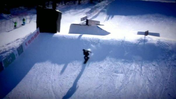 America dominates snowboarding world championships in China