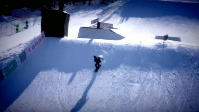 Les Américains raflent tout au snowboard
