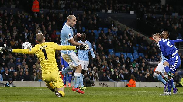 منچستر سیتی برای نخستین بار به مرحله یک چهارم نهایی لیگ قهرمانان اروپا صعود کرد