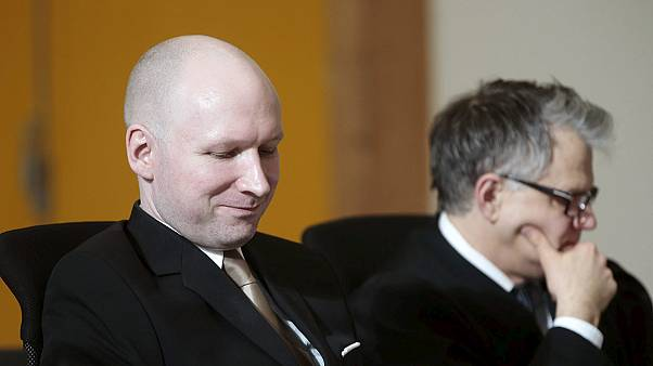 Mass killer Breivik appears in court in human rights case against Norway