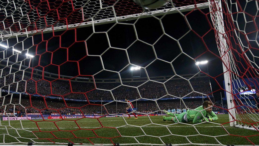 El Atlético de Madrid se clasifica tras una magnífica tanda de penaltis