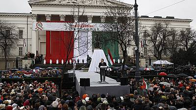 Hungary: PM Orban blames refugees for undermining Christian Europe