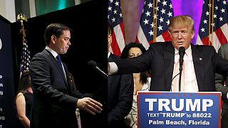 Florida'da Trump'a yenilen Rubio yarıştan çekildi