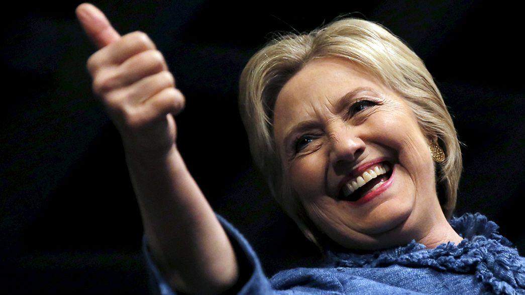 Primárias EUA: Hillary Clinton confirma favoritismo