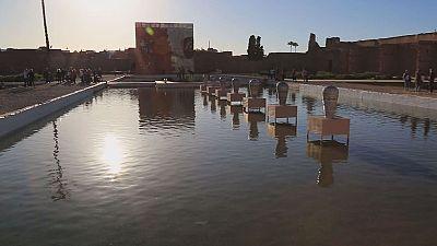 6. Kunst-Biennale in Marrakesch