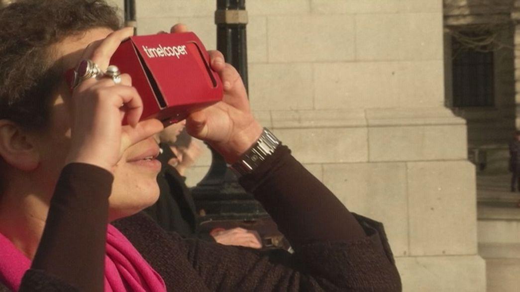 Zurück in die Vergangenheit mit VR-Brille und App