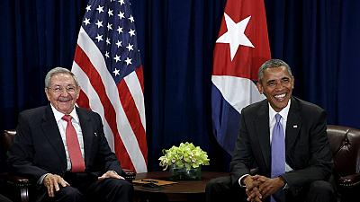 US gov't loosens Cuba restrictions ahead of historic visit.