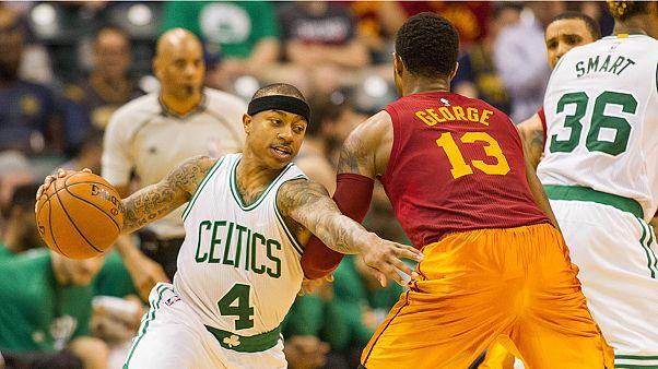 Un gran Paul George lleva a los Pacers a la victoria ante los Celtics