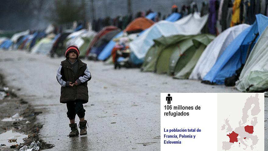 [Gráfico] Si la UE fuese Siria, habría 10 millones de muertos, 106 millones de refugiados