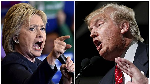 """Presidenciais dos EUA: Hillary a controlar, Trump """"a fazer um bom jogo"""""""