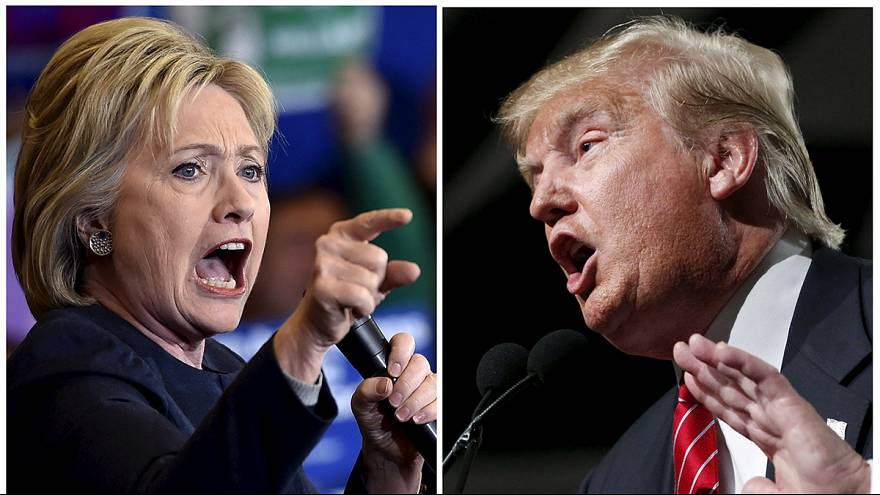 Trump and Clinton pave the way to the White House