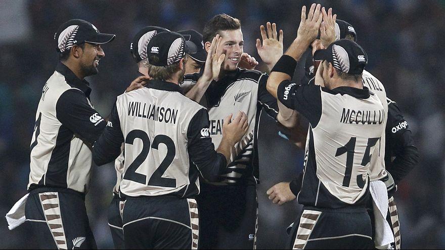 Новая Зеландия сенсационно обыграла Индию на Кубке мира по крикету