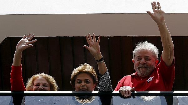 Popularity boost for Brazil's Rousseff? Lula da Silva to become chief of staff