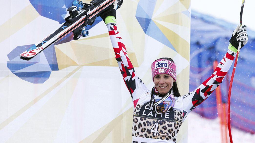Mirjam Puchner sorprende en Saint Moritz