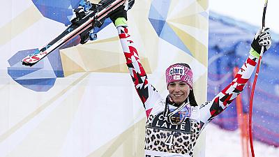 Alpine skiing: Puchner wins final downhill of season for first ever victory