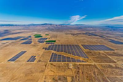 The 579-megawatt Solar Star projects are two solar installations in Kern and Los Angeles counties in California.