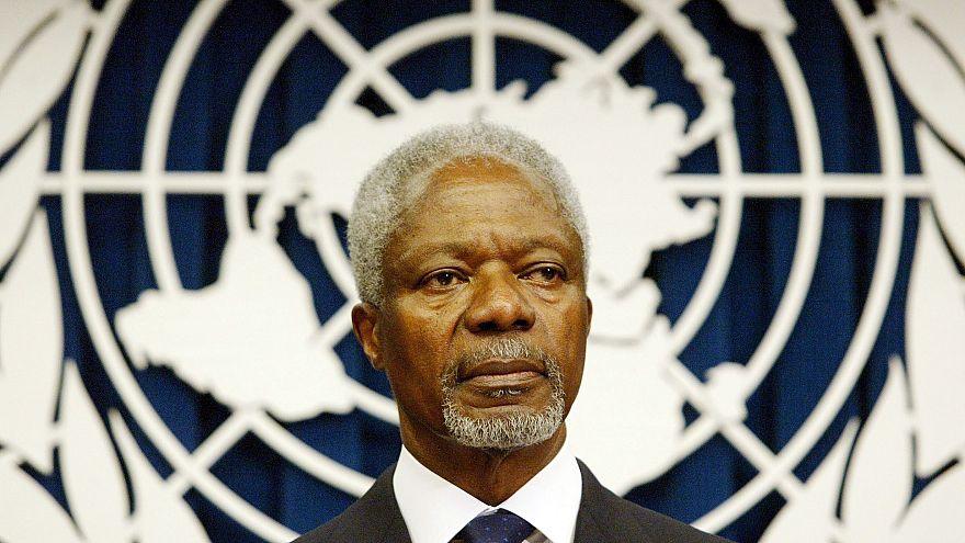 Image: Former UN Secretary General Kofi Annan dead at 80