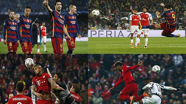 Bayern knock Juventus out of Europe in second leg thriller, Barca beat Arsenal also to progress to quarters