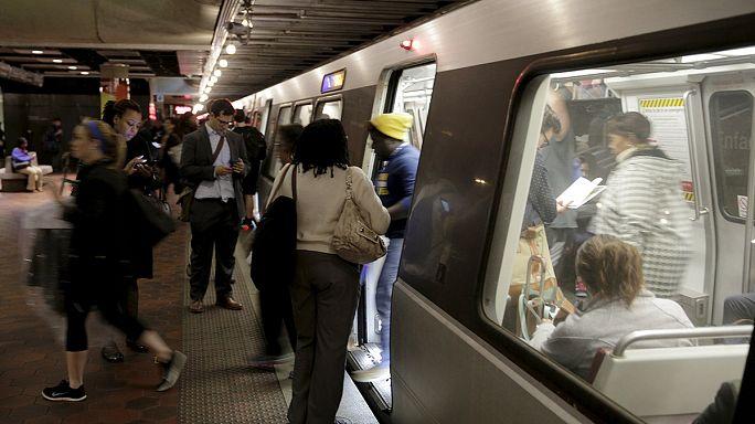 Újraindult a metró Washingtonban
