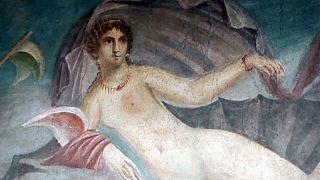 Pompeii'de restore edilen antik evler ziyarete açıldı