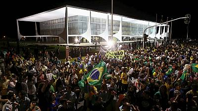 Release of tapped phone conversations between Rousseff and Lula triggers mass protests in Brazil