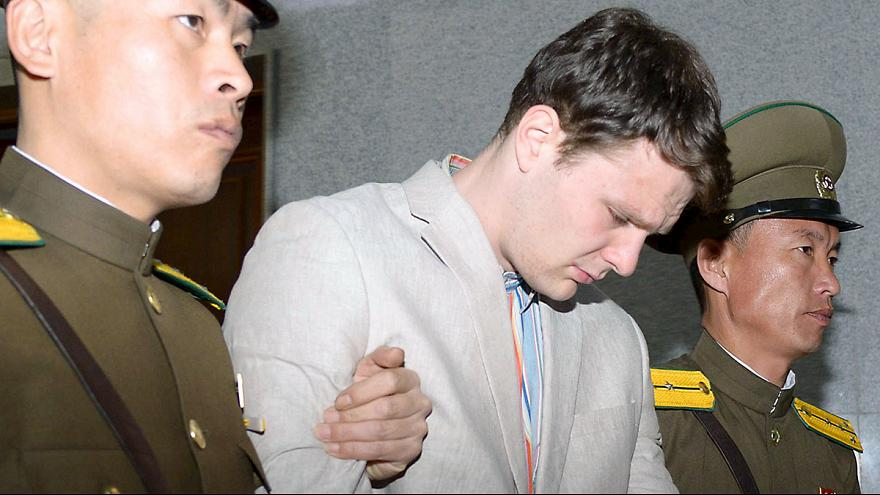 Az Észak-Koreában kényszermunkára ítélt amerikai diák azonnali szabadon engedését követeli Washington
