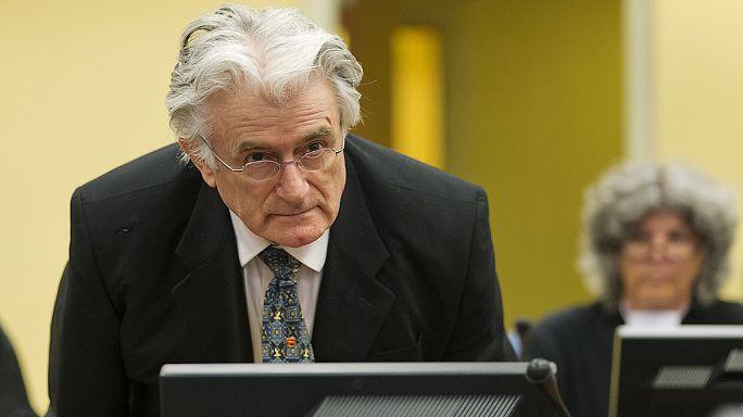 Hamarosan bezárul a Karadzic-akta