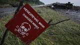 Minas terrestres regressaram à Ucrânia