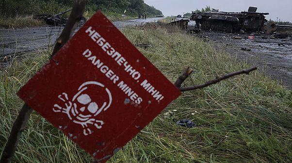 Ουκρανία: «Κληρονομιά» θανάτου οι διάσπαρτες νάρκες