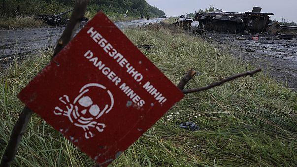 Tödliche Bedrohung durch Landminen in der Ukraine