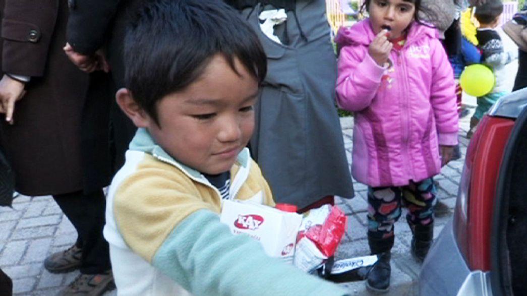 Reportage a Çeşme (Turchia), fra i migranti in attesa di imbarcarsi