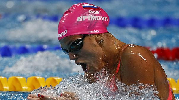 Russian world champion Efimova faces life ban after testing positive for meldonium