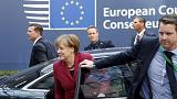 European leaders arrive in Brussels for EU-Turkey summit