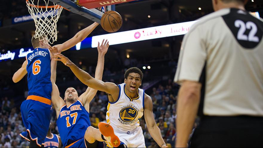 NBA: Warriors feiern 50. Heimsieg