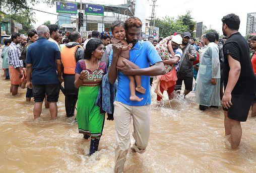 Image: TOPSHOT-INDIA-WEATHER-FLOOD