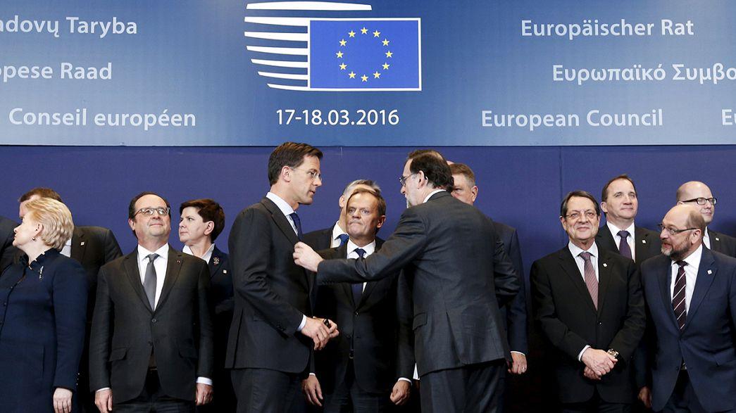 EU ringt um ein Flüchtlingsabkommen mit der Türkei