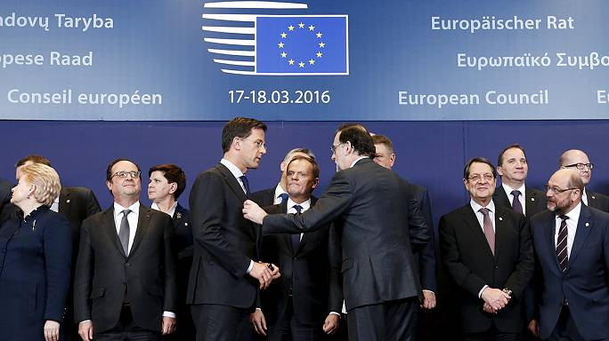 EU leaders begin negotiations on controversial refugee deal