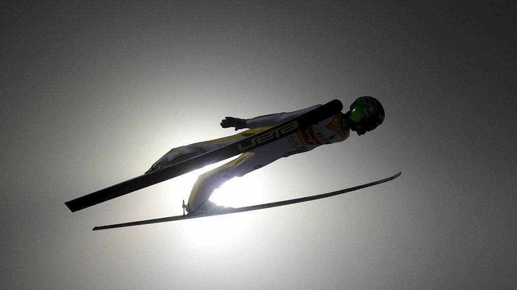 Kayakla atlama: Prevc'ten yeni rekor