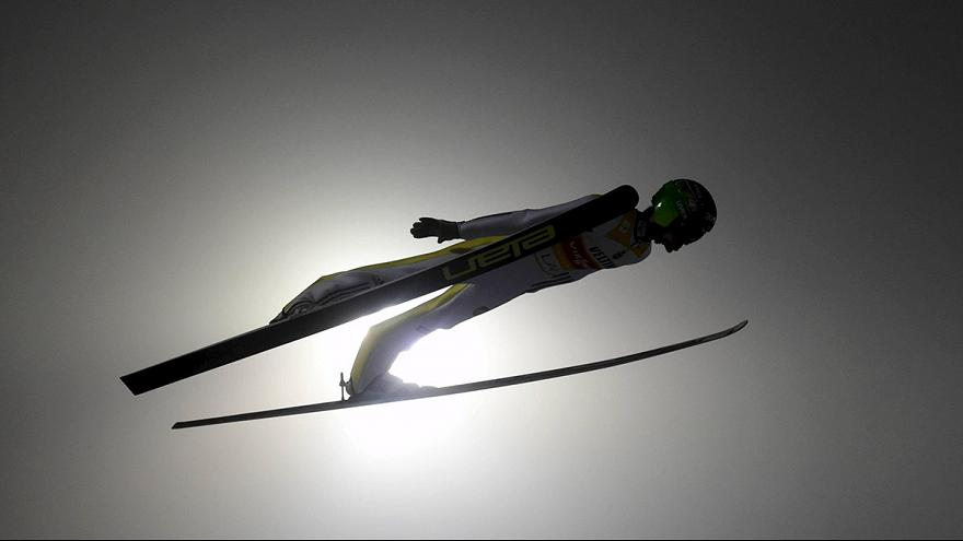 بيتر بريفتس يهيج الجماهير بفوزه في القفز على الثلج ببلانيكا