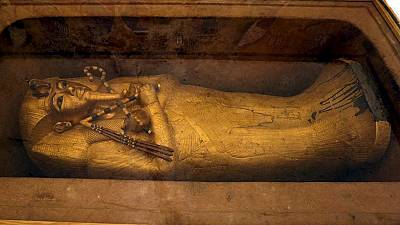 Scans reveal extra rooms in King Tutankhamun's tomb in Egypt