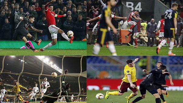 الدوري الأوروبي: ليفربول يتأهل إلى ربع النهائي ... و مانشيستر يجر أذيال الهزيمة