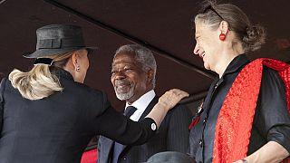 Kofi Annan pour une politique de reboisement du continent africain
