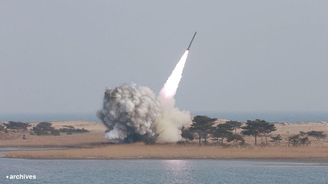 Nordkorea feuert Testrakete Richtung Japan