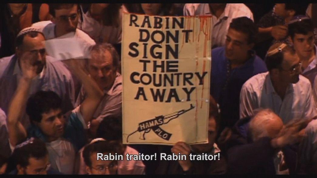 """Le dernier jour d'Yitzhak Rabin"", oeuvre hybride d'Amos Gitaï"