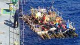 """نهاية رحلة """"كون تيكي 2 """" الاستكشافية على سواحل الشيلي"""